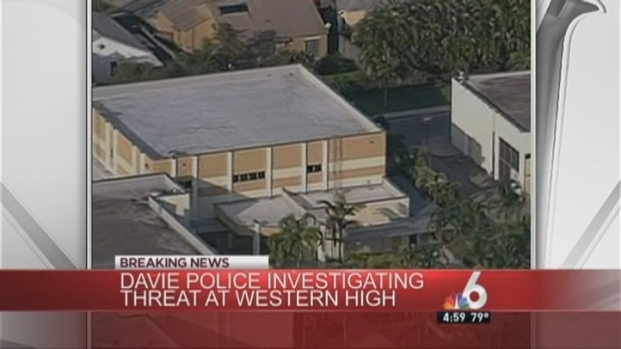 [MI] Davie Police Investigate Report of Student Possibly Bringing Weapon to School Friday