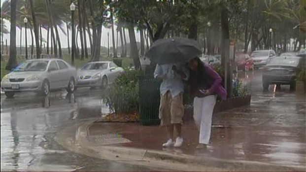 [MI] Hurricane Sandy Makes Presence Known in Miami Beach