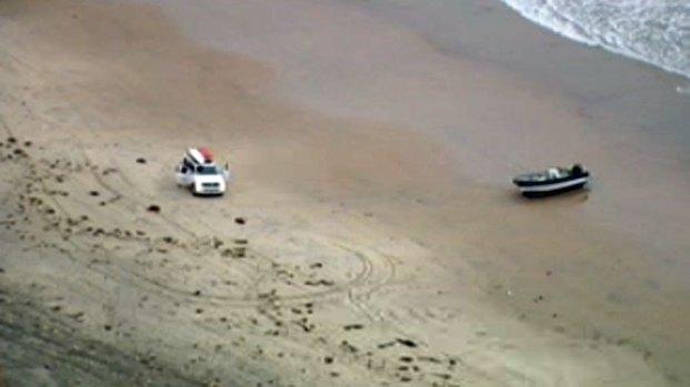 [DGO] Panga Boat Found in Blacks Beach
