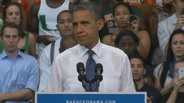 [MI] President Barack Obama Plays to Friendly Crowd at University of Miami