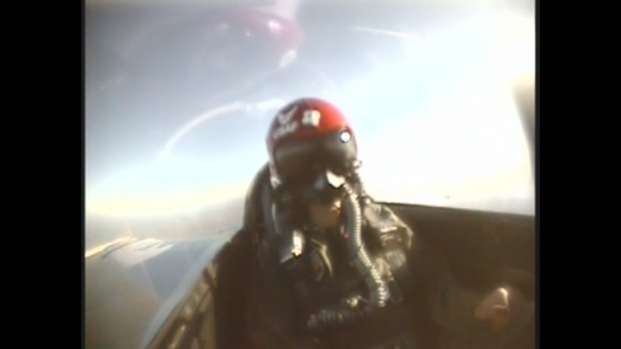 [MI] RAW VIDEO: Flying in a U.S. Air Force Thunderbird