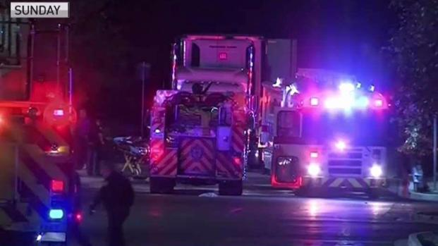 [NATL-DFW] Tractor-Trailer Survivor Says Truck Had No Ventilation