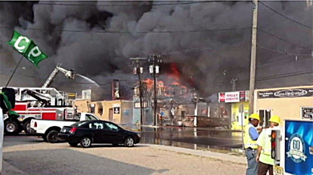 [NY] Boardwalk Fire Another Blow for Struggling Businesses