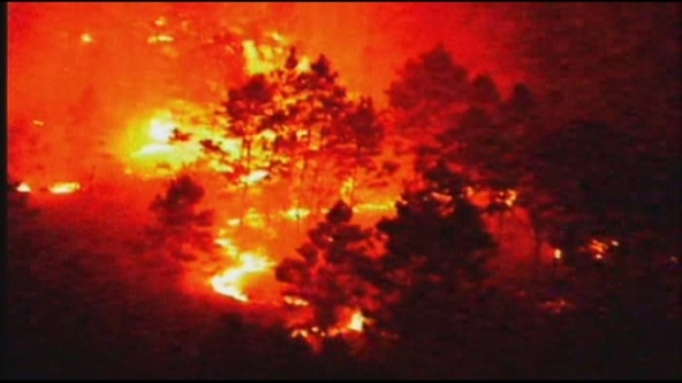 [MI] Brush Fire Raging in Kendall