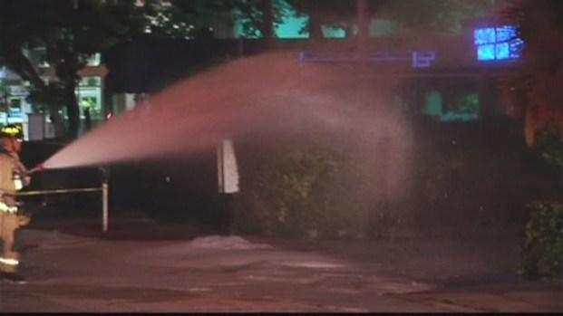 [MI] RAW VIDEO: Gas Leak at Miami Beach Chevron Station
