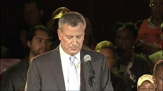[NY] Bill de Blasio Addresses Supporters on Primary Night