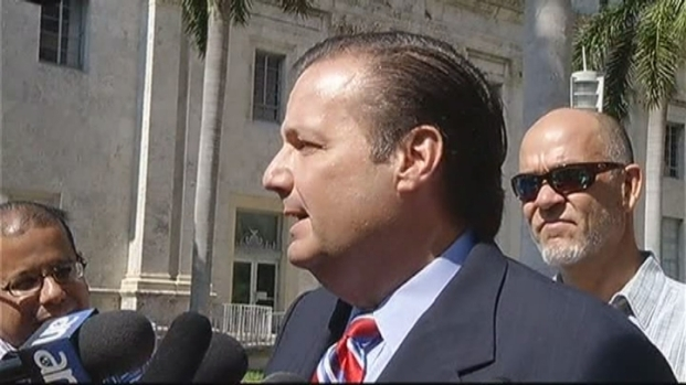 [MI] Julio Robaina Speaks With Reporters Following Arraignment