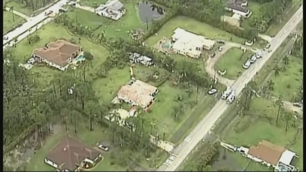 [MI] RAW VIDEO: Aerial Footage of Damage From Tornado in Loxahatchee