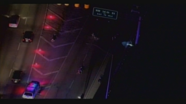 [MI] RAW VIDEO: Scene of Accident Involving 2 Motorcycle Officers in President Obama's Motorcade