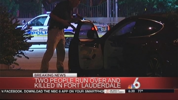[MI] 2 Pedestrians Struck And Killed in Fort Lauderdale, Driver in Custody
