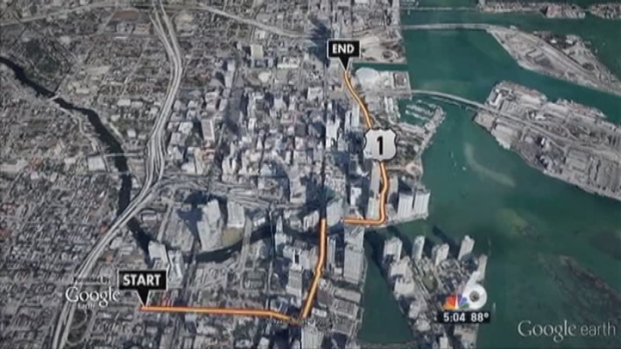 [MI] Miami Heat 2013 Victory Parade Route