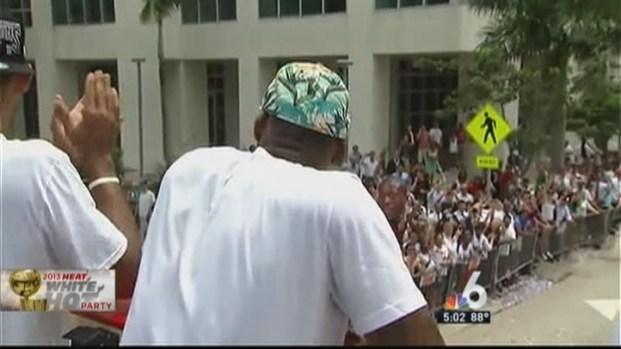 [MI] Miami Celebrates the Heat Win With Victory Parade