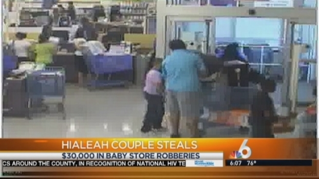 "[MI] Hialeah Couple Scams $30,000 in Babies""R""Us Merchandise: BSO"