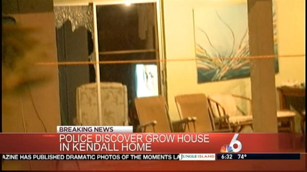 [MI] Police Investigate Grow House in West Kendall