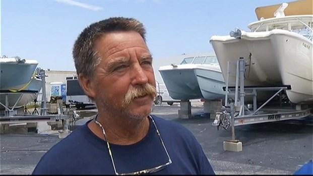 [MI] Weak Tornado Touchdown Damages Boatyard