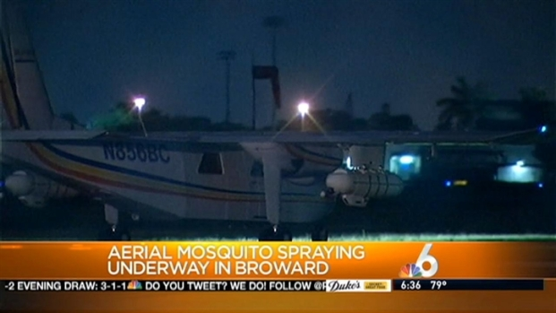 [MI] Broward County Sprays for Mosquitoes