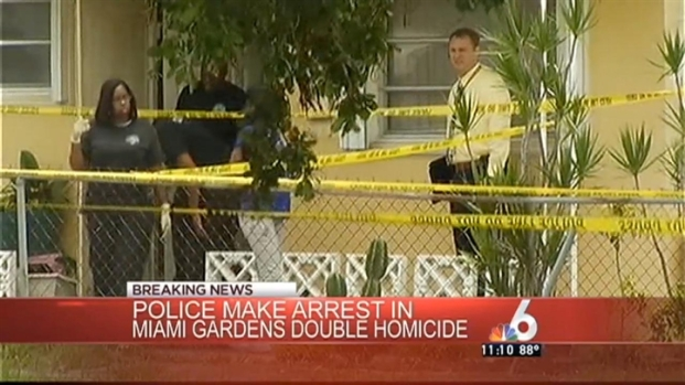 [MI] Arrest Made in Murder of Grandmother and Grandson in Miami Gardens