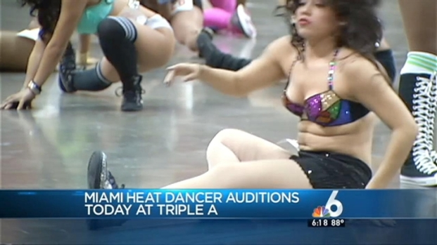 [MI] Miami Heat Holds Dance Team Auditions