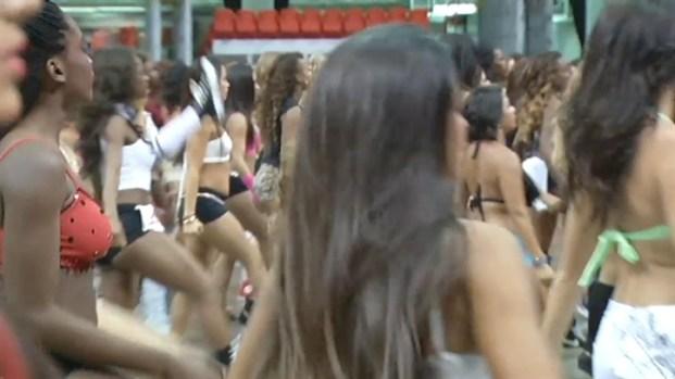 [MI] RAW VIDEO: Miami Heat Dance Team Auditions
