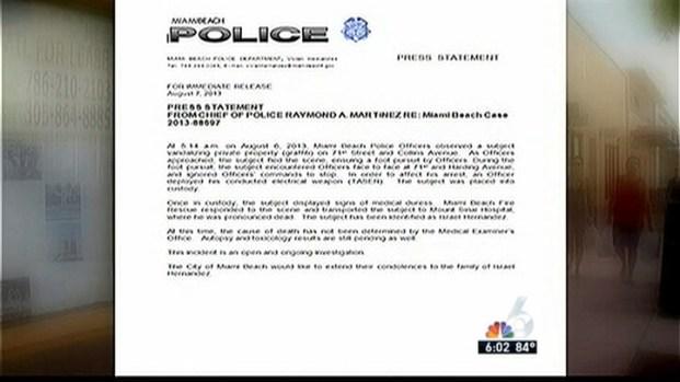 [MI] Family Speaks Out After Teen's Death After Officer Used Taser