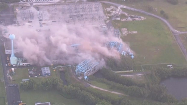 [MI] FPL Cutler Power Plant in Palmetto Bay Demolished