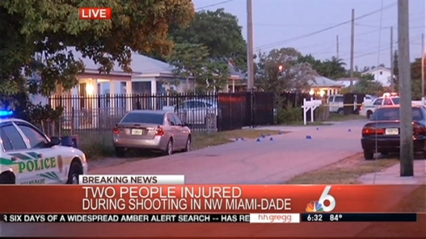 [MI] 2 Hospitalized in Shooting in Northwest Miami-Dade