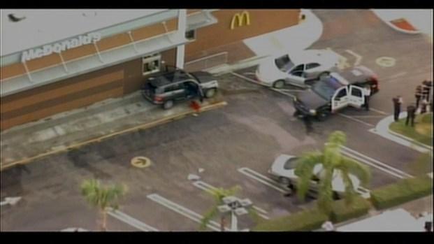 [MI] RAW VIDEO: Police Investigate McDonald's Shooting