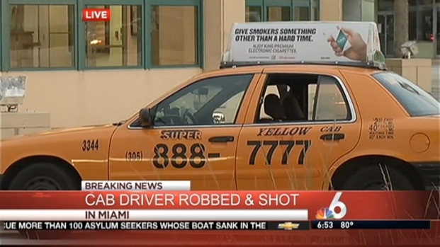 [MI] Taxi Driver Robbed and Shot in Miami