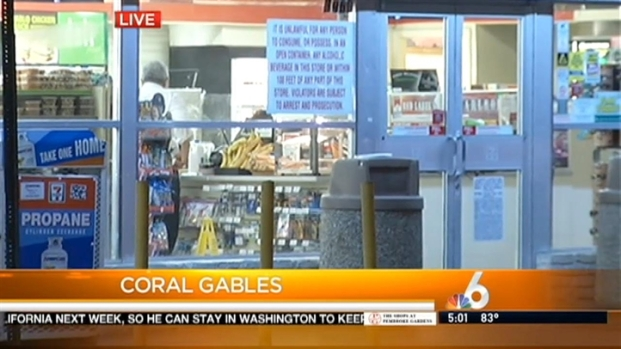 [MI] Coral Gables Police Investigating Armed Robbery at 7-Eleven