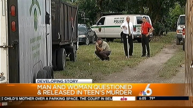 [MI] Couple Questioned in Teen's Death Released By Miami-Dade Police