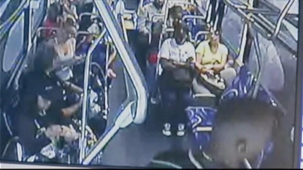 [MI] RAW VIDEO: Broward Bus Attack