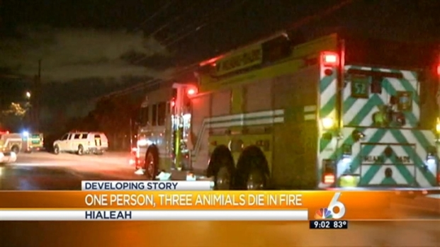 [MI] 1 Man, 3 Horses Dead After Northwest Miami-Dade Stable Fire: MDFR