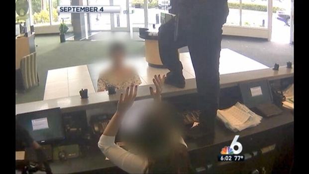 [MI] FBI Releases Video of Brazen Armed Bank Robbery in Pembroke Pines