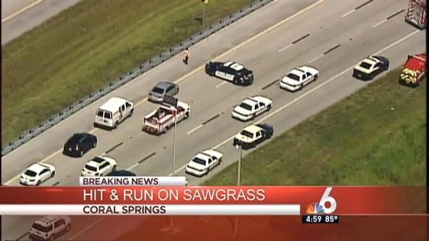 [MI] Hit-and-Run on Sawgrass Expressway Leaves Pedestrian in Critical Condition: Authorities