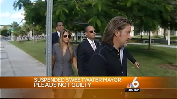 [MI] Suspended Sweetwater Mayor Manuel Marono Pleads Not Guilty to Public Corruption Charge