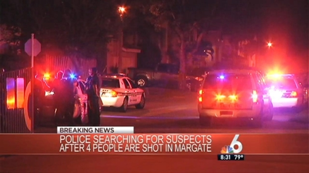 [MI] 4 Injured in Margate Shooting: Police