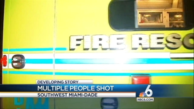 [MI] Multiple People Injured in Southwest Miami-Dade Shooting
