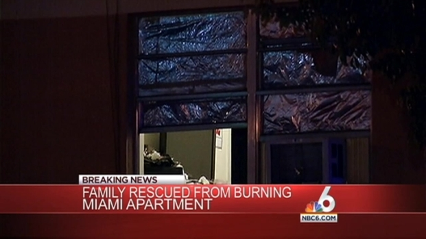 [MI] Good Samaritans Helped Family Escape Apartment Fire: Miami Fire Rescue