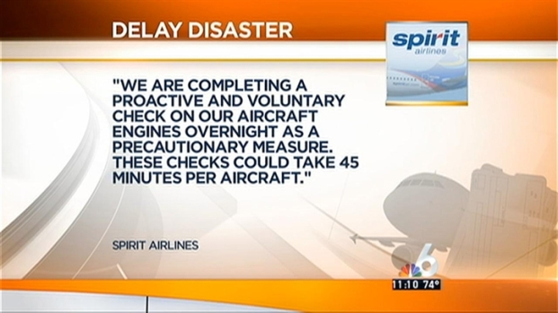 [MI] Spirit Airlines Delays Leave Hundreds Stranded at FLL