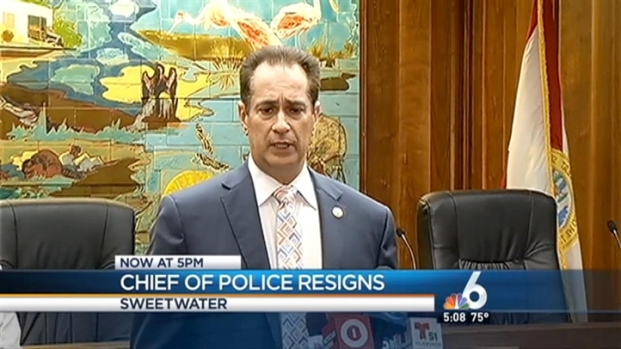 [MI] Sweetwater Police Chief Roberto Fulgueira Retiring