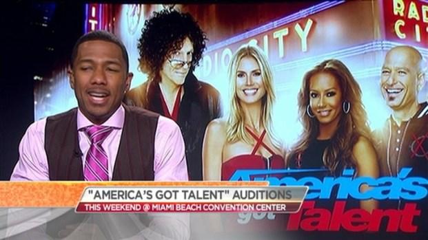[MI] Nick Cannon Talks Miami 'AGT' Auditions