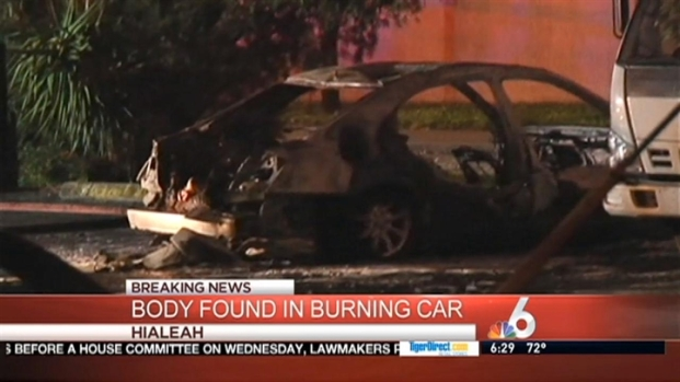 [MI] Body Found in Burning Car in Hialeah