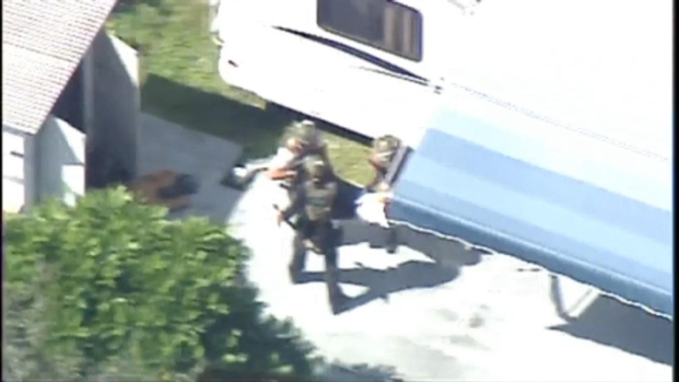 [MI] RAW VIDEO: Suspect Taken Into Custody After Police Pursuit Ends