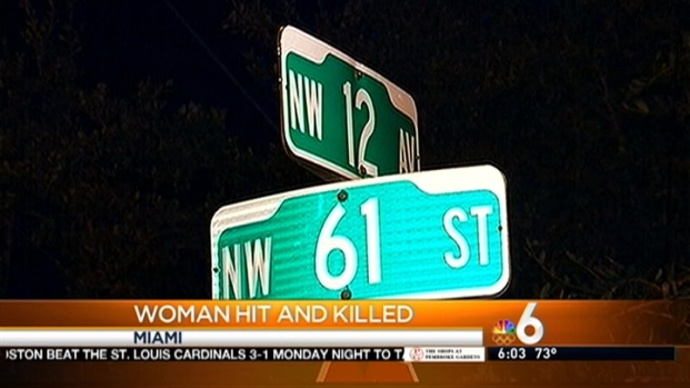 [MI] Elderly Woman Struck and Killed in Miami