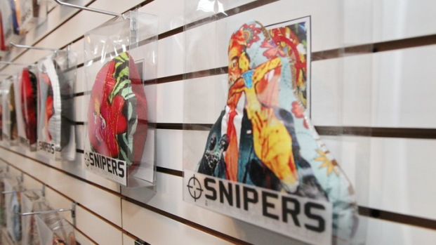 Snipers in Wynwood