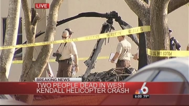 [MI] Witness: Helicopter Crashed Against Palm Tree in West Kendall