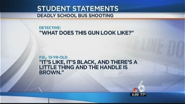 [MI] Victim Played With Gun Before Homestead School Bus Shooting: Witness