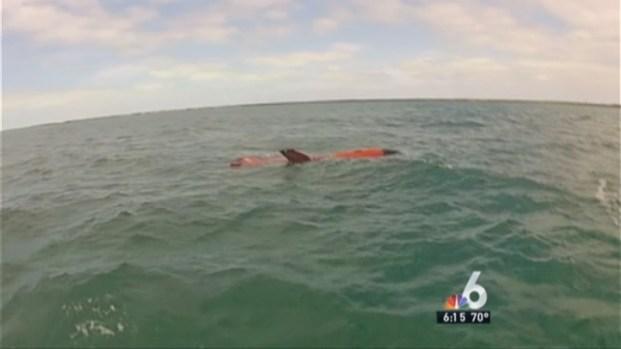 [MI] Air Force Retrieves Military Drone Found Floating in Upper Keys