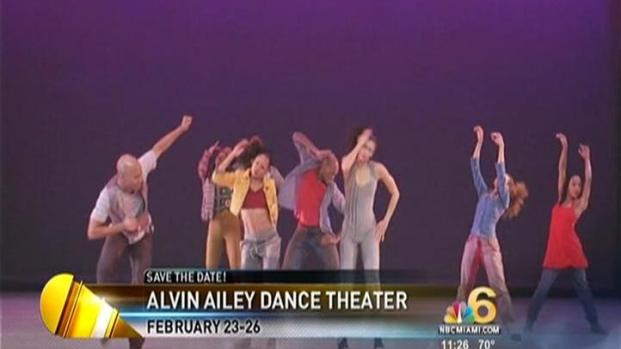 [MI] Alvin Ailey Leaps into the Arsht Center