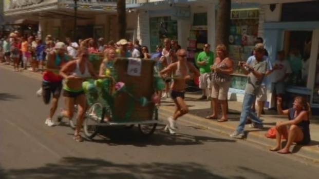 [MI] Bed Race Wraps Up Conch Republic Independence Celebration in Key West